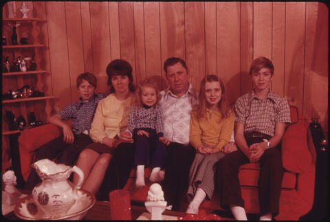 Jack Corn - Wayne Gipson Family, Which Lives on a Plateau in Southeastern Tennessee, 1974