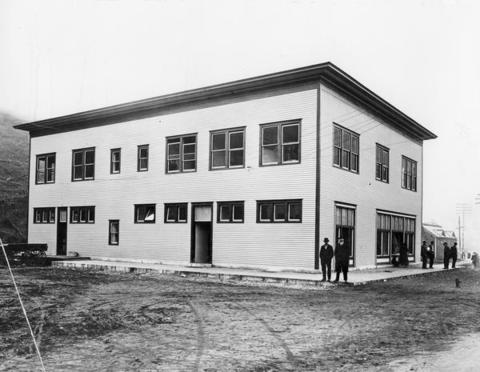 Stonega Commissary, 1915. The commissary was a company-owned and operated grocery or general store in a company town. Workers and their families could purchase goods, typically with cash, company scrip, or store credit.