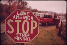Erik Calonius - There Is Some Local Opposition to Stripping the Land in Southeastern Ohio. Most People, However, Are Employed by the Coal Companies and Are Afraid Any Demands for Reform Will Cost Them Their Jobs, 1973