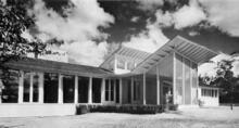 George Fred Keck (Keck and Keck Architects), Sloan House, Glenview, Illinois, 1939