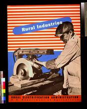 """Rural Electrification Administration, """"Rural Industries"""""""